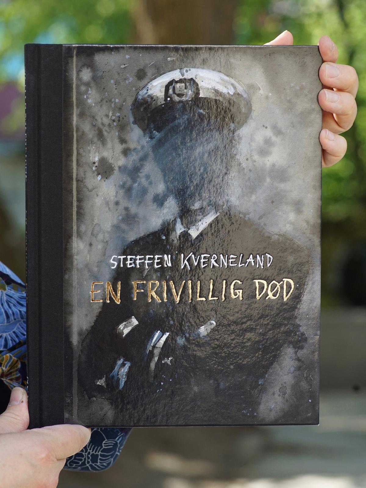 Omslaget til tegneserien En frivillig død av Steffen Kverneland