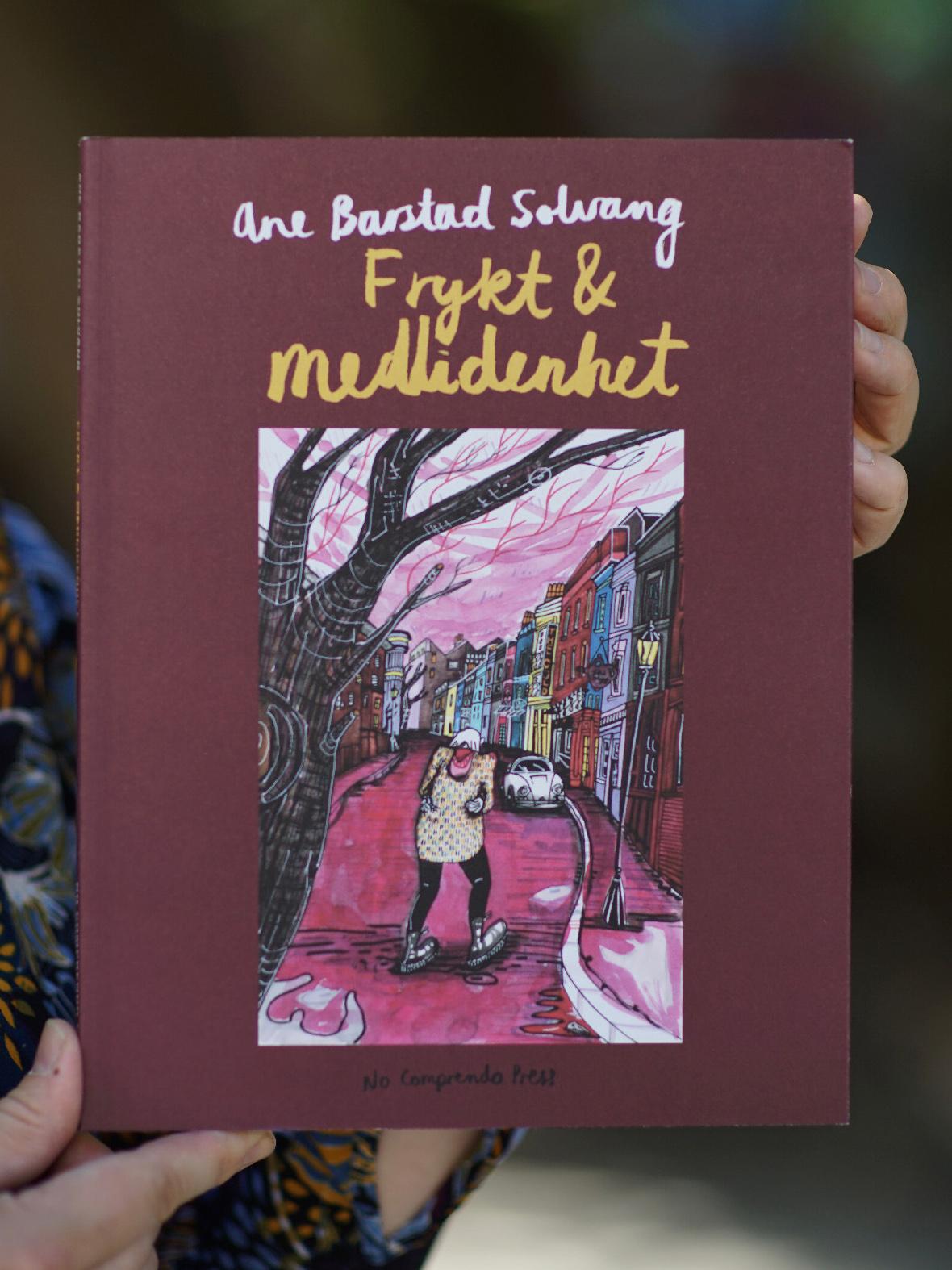Omslaget til tegneserien Frykt og medlidenhet av Ane Barstad Solvang